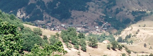 Zhelevo from a distance
